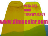 Organic Pigment Yellow Gr-T (pigment yellow 13) for Gravure Ink, High Transparency