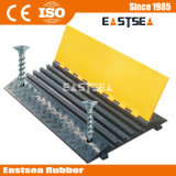 Durable Rubber Fixable 5 Channel Cable Ramp Outdoor (DH-CP-3)