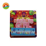 Happy Birthday Girl and Boy Glitter Letter Party Candle