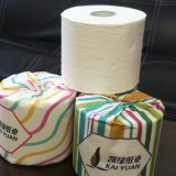 Manufacturer Premium 100% Pure Bamboo Toilet Paper Rolls with Paper Covers