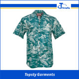 9b81abd6b Wholesale Polycotton OEM Men's Leisure Hawaiian All Over Printing Shirts