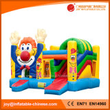 Outdoor Inflatable Hands up Clown Bouncy Slide Toy (T3-611)