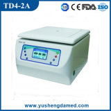 Laboratory Equipment Medical Low Speed Benchtop Centrifuge Td4-2A