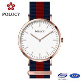 China Watch Manufacturers OEM Rose Gold Dw Nylon Strap Watches