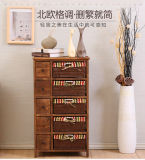 Solid Wood Cabinet for Living Room
