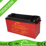 12V150ah Deep Cycle Solar Gel Battery for Lighting Security System