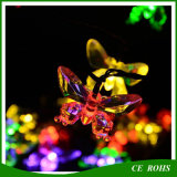 Colorful Butterfly LED Solar String Light 20LED/30LED for Christmas Tree Festival Party Decoration Fairy Light