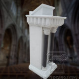 Marble Hand Carved Pulpit for Church