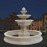 Marble Stone Carving Fountain Granite Antique Look, Outdoor Garden Water Fountain Design