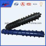 Straight Spiral Rubber Roller and Bi-Direction Spiral Rubber Roller for Belt Conveyor