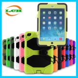 Shockproof Silicone and Plastic Double Protection Armor Case for iPad Air 2
