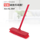 Easy Cleaning Plastic Hard Bristle Hand Floor Brush
