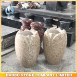 Granite Cemetery Use Vase Wholesale Flower Pot