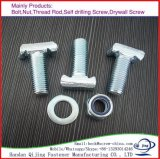 Zinc Plated Carbon Steel T Shape Bolt M14-M24