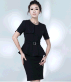 Top-Quality Elegant Slim Fit Ladies Summer Office Business Uniform Suit (2010-D2&B18&13)