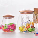 Candy Glass Kitchen Storage Jar Glass Food Candy Jar Decoration Candy Jar