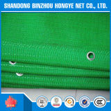 Green Scaffolding Shade Net/HDPE Knitted Construction Safety Net with Eyelets