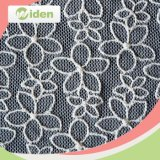 125cm High Quality Eco Friendly Flower Design Net Lace Fabric