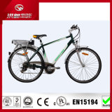 Good Price 700cc Electric City Bike with Rear Lithium Battery