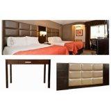 Modern Design Luna Hotel Furniture Scratch Resistance Bedroom Sets with Affordable Prices
