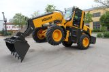 Haiqin Brand Strong Wheel Telescopic Loader (HQ930T) with Cummins Engine
