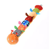 Custom Multi-Functional Music Caterpillar Baby Plush Educational Toy
