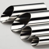 Colded Rolled Mirror Finish Custom Stainless Steel Pipe with Grade 201/202/301/304/304L/3160316L/430
