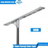 Good Brightness Smart Solar LED Street Light 30W 40W 50W 60W 80W 100W