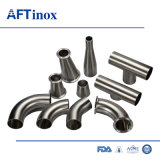 Sanitary Forged Steel Fitting Stainless Steel Reducing Tee