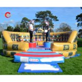 6m-20FT Adventure Gladiator Pole Inflatable Jousting Arena, Custom Made Inflatable Joust Game Outdoor