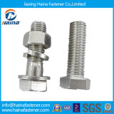 Stainless Steel SS304 Ss 316 Hex Bolts and Nuts Zinc Plated Thread Bolt Hot DIP Galvanized 4.8 8.8 Hex Bolt & Nut (DIN933 AND DIN934)