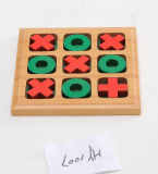 Wooden Chess Board Wooden Game (CB1007)
