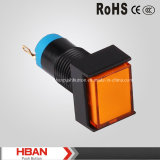 Pure Color 16mm Mounting Size LED Indicator Lamp