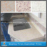 Artificial Solid Surface Red/Black/Yellow Colors Quartz Stone Slabs