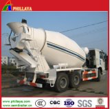 Phillaya Made Concrete Bulk Tank Semi Trailer / Cement Mixer Truck