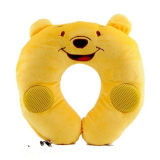 Soft Animal Kid Musical Travel Pillow-A012
