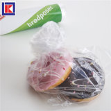 Food Grade Clean Disposable Poly LDPE Bread Packaging Bag with Paper Core