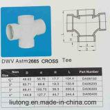 PVC Dwv Plumbing Tripple (CROSS) (ASTM DWV D 2665)