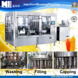 Pulp / Granule Beverage Juice 4 in 1 Bottling Filling Machinery
