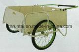 Heavy Duty PU Wheel Garden Tool Cart