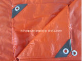Double Orange Heavy Duty PE Tarp Sheet/Plastic Tarpaulin Sheet