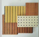 Slotted acoustic panel