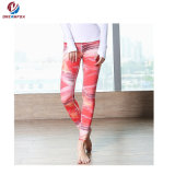 Women's Activewear Cover Stitch Slim Fitness Running Tights Yoga Wear