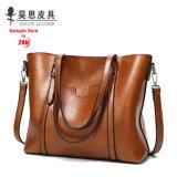 Guangzhou Factory 2017 New PU Leather Fashion Designer Women Female Tote Ladies Handbag