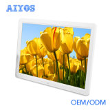 15.4 Inch Advertising Player Wall Mounted LCD Digital Photo Frame with Motion Sensor