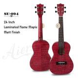 China Aiersi Custom 23 Inch Handmade Color Ukulele Instrument