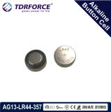 Mercury&Cadmium Free China Factory Bulk Alkaline Button Cell for Watch (1.5V AG13/LR44/357)