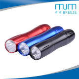Colorful Aluminium Alloy LED Torch&Lighting Torch with Dry Battery AA