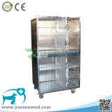 Pet Clinic Canine Cage Animal Cage Dog Cage Fox House Medical Stainless Steel Pet Dog Bird Cage