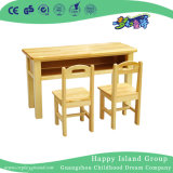Kindergarten Wooden Combination Table Set for Eight (HG-3804)
